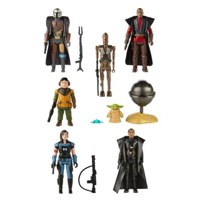 Star Wars The Mandalorian Retro Collection assortiment figurines 2021 10 cm (7)