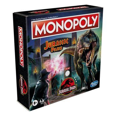 Jurassic Park jeu de plateau Monopoly *ANGLAIS*