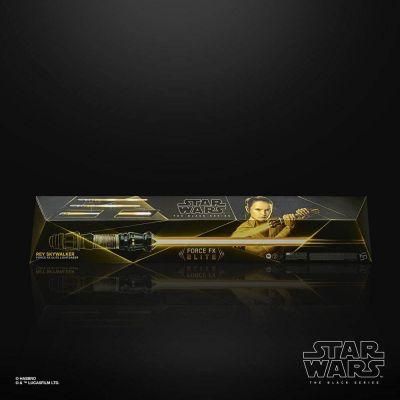 """""""Réservation Acompte"""" Star Wars Episode IX Black Series réplique 1/1 sabre laser Force FX Elite Rey Skywalker"""