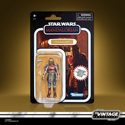 Star Wars The Mandalorian Vintage Collection Carbonized figurine 2021 The Armorer 10 cm