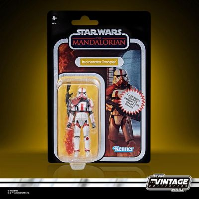Star Wars The Mandalorian Vintage Collection Carbonized figurine 2021 Incinerator Trooper 10 cm