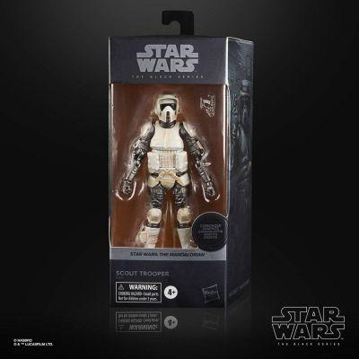 Star Wars The Mandalorian Black Series Carbonized figurine 2021 Scout Trooper 15 cm