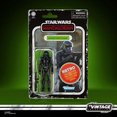 Star Wars The Mandalorian Retro Collection figurine 2022 Imperial Death Trooper 10 cm