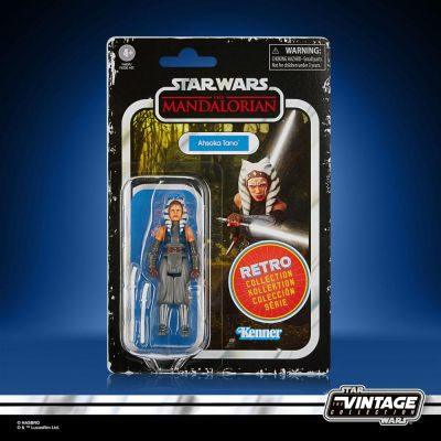 Star Wars The Mandalorian Retro Collection figurine 2022 Ahsoka Tano 10 cm