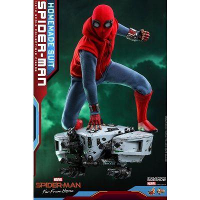 Spider-Man : Far From Home figurine Movie Masterpiece 1/6 Spider-Man (Homemade Suit) 29 cm
