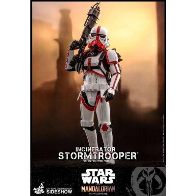 Star Wars The Mandalorian figurine 1/6 Incinerator Stormtrooper 30 cm