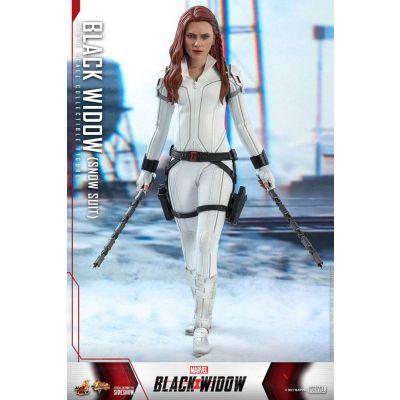 Black Widow figurine Movie Masterpiece 1/6 Black Widow Snow Suit Version 28 cm