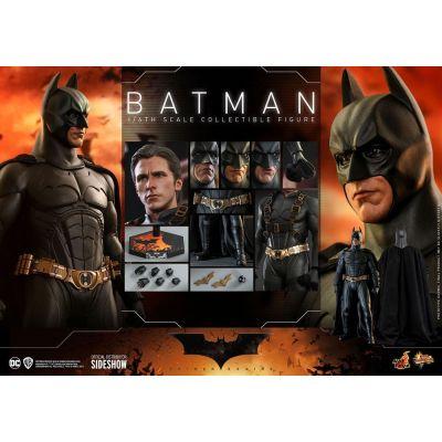 """""""Réservation Acompte"""" Batman Begins figurine Movie Masterpiece 1/6 Batman Hot Toys Exclusive 32 cm"""