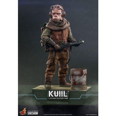 """""""Réservation Acompte"""" Star Wars The Mandalorian figurine 1/6 Kuiil 25 cm"""