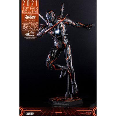 Avengers: Infinity War figurine 1/6 Iron Man Neon Tech 4.0 2021 Toy Fair Exclusive 32 cm