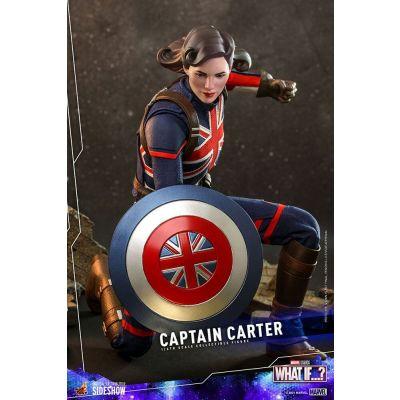 """""""Réservation Acompte"""" What If...? Figurine 1/6 Captain Carter 29 cm"""