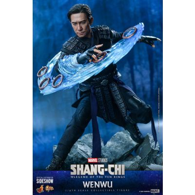 Shang-Chi and the Legend of the Ten Rings figurine Movie Masterpiece 1/6 Wenwu 28 cm