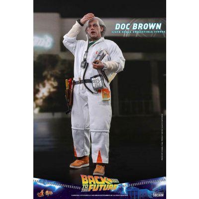 """""""Réservation Acompte"""" Retour vers le futur figurine Movie Masterpiece 1/6 Doc Brown 30 cm"""