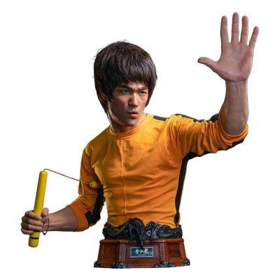 """""""Réservation Acompte"""" Le Jeu de la mort buste 1/1 Bruce Lee 75 cm"""