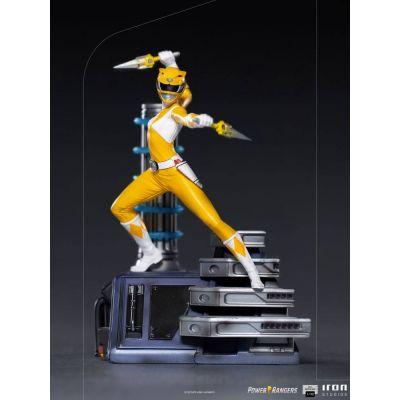 Power Rangers statuette 1/10 BDS Art Scale Yellow Ranger 19 cm