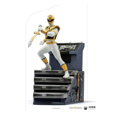 Power Rangers statuette 1/10 BDS Art Scale White Ranger 22 cm