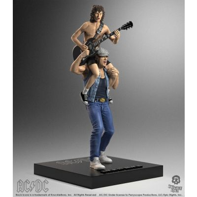 AC/DC statuette Rock Iconz 1/9 Angus & Brian 27 cm