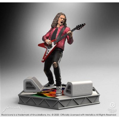 Metallica statuette Rock Iconz Kirk Hammett Limited Edition 22 cm
