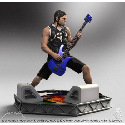 Metallica statuette Rock Iconz Robert Trujillo Limited Edition 22 cm