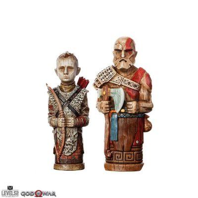 God of War pack 2 statuettes Atreus' Toys 16-18 cm