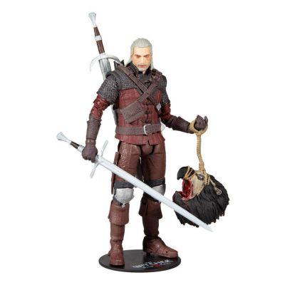 The Witcher 3: Wild Hunt figurine Geralt of Rivia (Wolf Armor) 18 cm