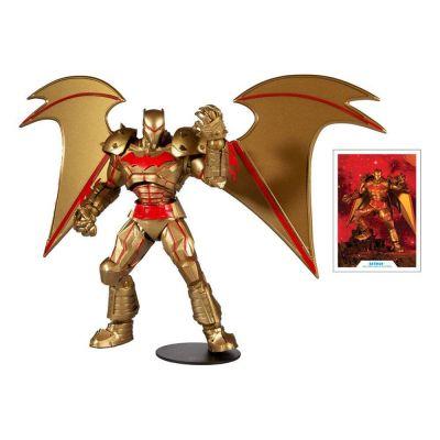 DC Multiverse figurine Batman Hellbat Suit (Gold Edition) 18 cm
