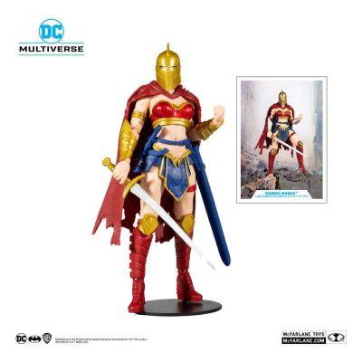 DC Multiverse figurine LKOE Wonder Woman with Helmet of Fate 18 cm
