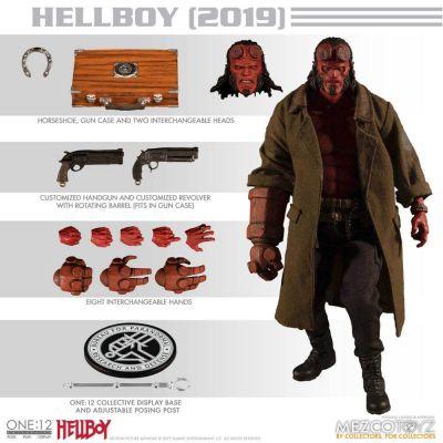 Hellboy (2019) figurine 1/12 Hellboy 17 cm