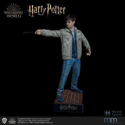 Tête silicone pour la statue 1/1 Harry Potter