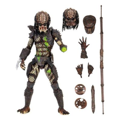 Predator 2 figurine Ultimate Battle-Damaged City Hunter 20 cm