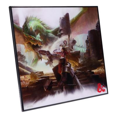 Dungeons & Dragons décoration murale Crystal Clear Picture Starter Set 32 x 32 cm