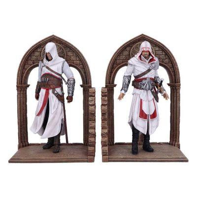 """""""Réservation Acompte"""" Assassin's Creed serre-livres Altair and Ezio 24 cm"""