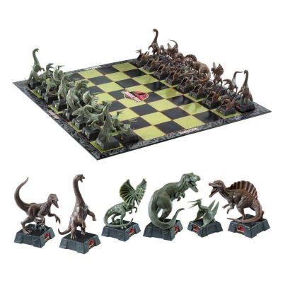 Jurassic Park jeu d´échecs Dinosaures