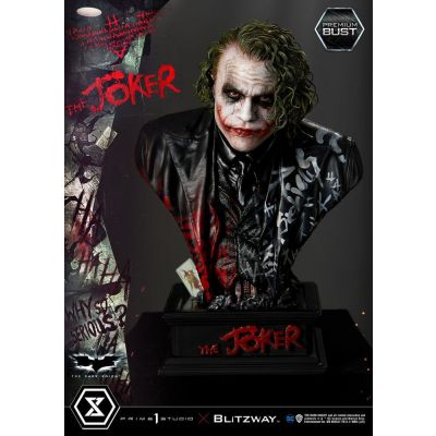 """Réservation Acompte"" The Dark Knight buste Premium The Joker 26 cm"