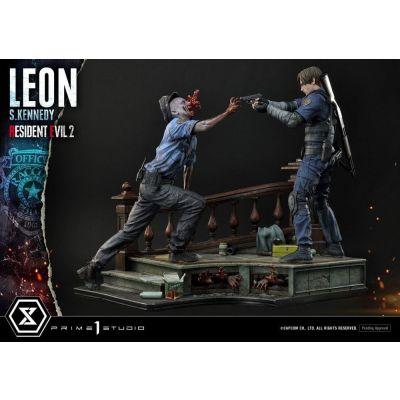 Resident Evil 2 statuette Leon S. Kennedy 58 cm et statuette Claire Redfield 55 cm