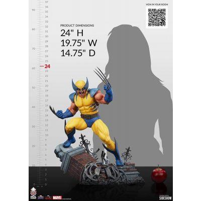 """""""Réservation Acompte"""" Marvel: Future Fight statuette 1/3 Wolverine 61 cm"""