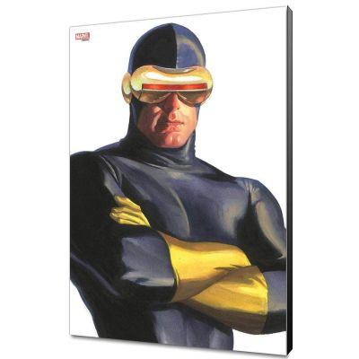 Marvel Avengers Collection tableau en bois Alex Ross - Cyclops 30 x 45 cm