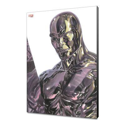 Marvel Avengers Collection tableau en bois Alex Ross -Silver Surfer  30 x 45 cm