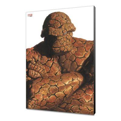Marvel Avengers Collection tableau en bois Alex Ross -The Thing   30 x 45 cm