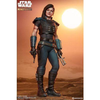 """""""RÉSERVATION ACOMPTE"""" Star Wars The Mandalorian statuette Premium Format Cara Dune 48 cm"""