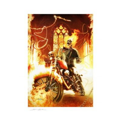 Marvel impression Art Print Ghost Rider 46 x 61 cm - non encadrée