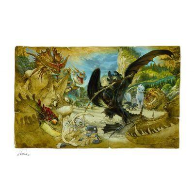 Dragons impression Art Print Ecto-1 46 x 61 cm - non encadrée