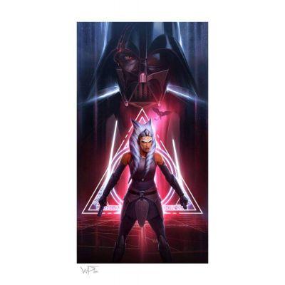Star Wars impression Art Print Ahsoka Tano: Between Worlds 46 x 66 cm non encadrée