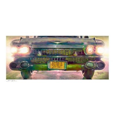 Ghostbusters impression Art Print Ecto-1 46 x 61 cm - non encadrée