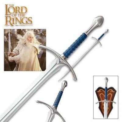 Le Seigneur des Anneaux réplique 1/1 épée Gandalf Glamdring 121 cm