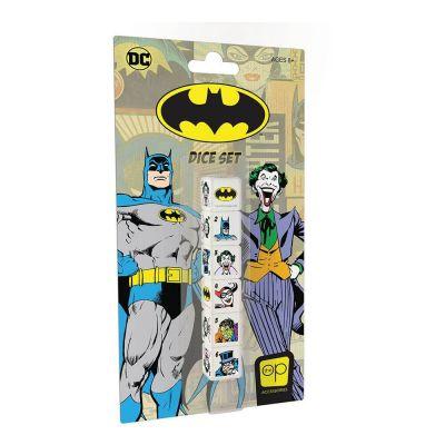 Batman pack dés 6D6 (6)