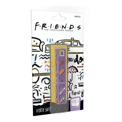 Friends pack dés 6D6 (6)