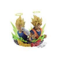 Dragonball Z buste Figuration Vol. 2 SSJ Goku & Vegeta 7 cm