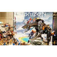 Horizon Zero Dawn statuette 1/4 Aloy Shield Weaver Armor Set 70 cm + 1/4 Stalker 68 cm