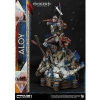 Horizon Zero Dawn statuette 1/4 Aloy Shield Weaver Armor Set 70 cm